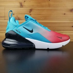 Nike Air Max 270 Firecracker Blue Fury Black White
